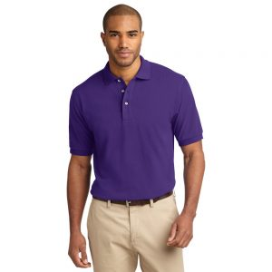 K420 PORT AUTHORITY® PIQUE KNIT POLO