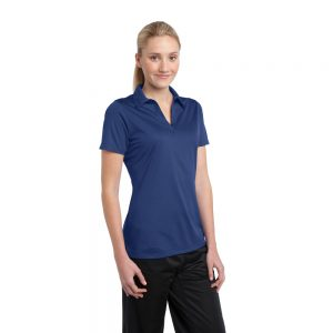 LST690 SPORT-TEK® LADIES ACTIVE TEXTURED POLO