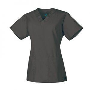 CORE LINE 1016 – LADIES #22 TWO-POCKET V-NECK TOP