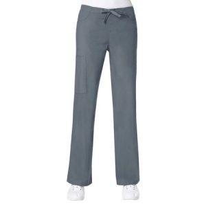 CORE LINE 9626 – LADIES  STRAIGHT LEG CARGO & BACK ELASTIC DRAWSTRING PANT