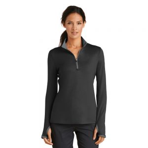 REHAB779796 LADIE'S NIKE DRI-FIT STRETCH 1/2-ZIP COVER-UP – INPATIENT