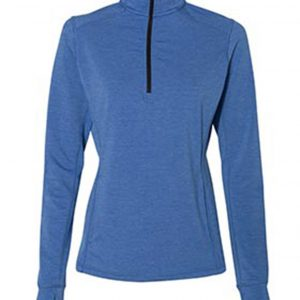 JA042 J AMERICA LADIES OMEGA STRETCH 1/4 ZIP