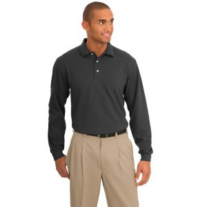 K455LS PORT AUTHORITY RAPID DRY LONG SLEEVE POLO