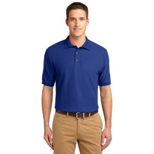CANCERK500 PORT AUTHORITY® SILK TOUCH™ POLO