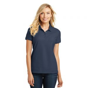 L100 PORT AUTHORITY® LADIES CORE CLASSIC PIQUE POLO