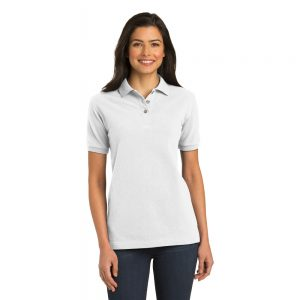 L420 PORT AUTHORITY® LADIES PIQUE KNIT POLO