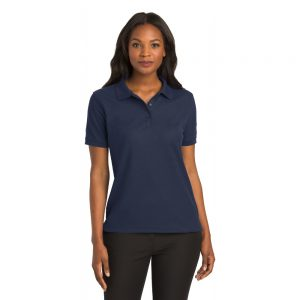 CANCERL500 PORT AUTHORITY® LADIES SILK TOUCH™ POLO