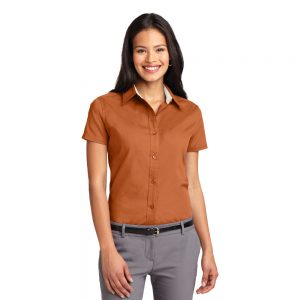 REHABL508 PORT AUTHORITY® LADIES SHORT SLEEVE EASY CARE SHIRT