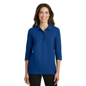 REHAB53 3/4 SLEEVE POLO 65/35 PIQUE (LADIES)