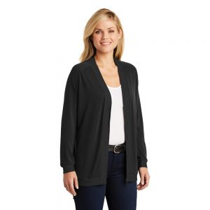 LK5431 PORT AUTHORITY LADIES CONCEPT BOMBER CARDIGAN