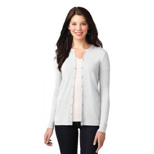 LM1008 Port Authority Ladies Concept Stretch Button-Front Cardigan