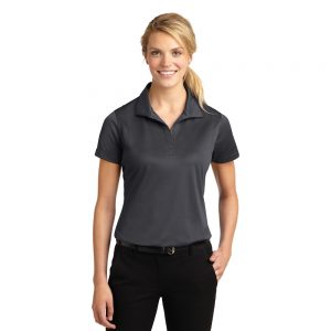 REHAB6 LADIES SPORT-TEK SOLID DRY-WICK V-NECK