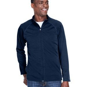 DG4 DEVON & JONES MEN'S STRETCH TECH-SHELL™ COMPASS FULL-ZIP