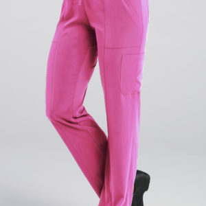 Pure 7901 – Ladies Relaxed-Fit Elastic Drawstring Cargo Pant