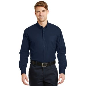 REHAB CornerStone – Long Sleeve SuperPro™ Twill Shirt