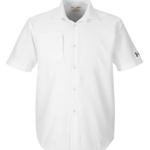 CANCER1259095 Under Armour Men's Ultimate Short Sleeve Buttondown